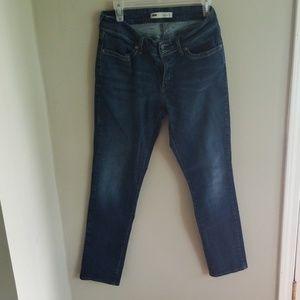 Levis Curvy 529 Skinny Leg Jeans